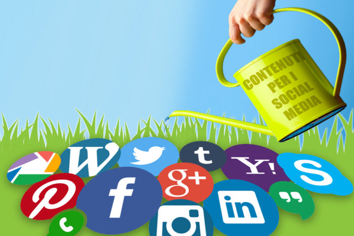 contenuti per il social media marketing