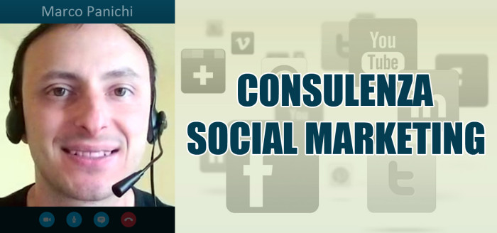 consulenza social marketing